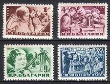 Bulgaria - 1951 Child's Day - Mi. 801-04 MNH