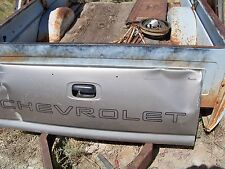 """Chevrolet Chevy Tailgate 62"""" X 22"""" Bench Decor 1990 s 2000 s # 1122R07 8941A3"""