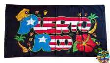 Puerto Rico Flag & Coqui 30 x 60 Inchs Home , Beach , Swimming , Lake Towel