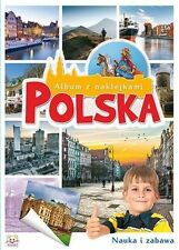 Polska Album z naklejkami +Legendy torunskie i morskie Baśnie polskie 2Cd dzieci