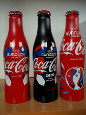 Set de 3 bouteilles coca cola EURO 2016