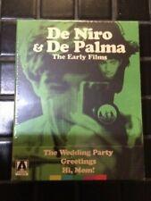 De Palma & De Niro: The Early Films The Wedding Party, Greetings, Hi Mom! New