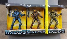 "Set of 3 Halo 3 12"" Action Figures Mint in Box 2 are Exclusive Free US Shipping"