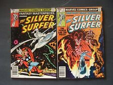 Fantasy Masterpieces SILVER SURFER 3-4 vs Mephisto THOR