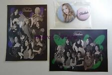 Girls' Generation 4th Tour Phantasia Official MD Taeyeon Badge w 2 stickers SNSD