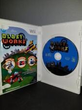 Blast Fonctionne: Build, Échange, Destroy Nintendo Wii Cib Complet Étui Et