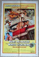 WHITE LIGHTNING ORIGINAL 1973 1SHT MOVIE POSTER FLD BURT REYNOLDS EX