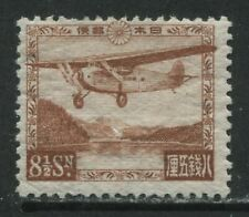 Japan 1929  8 1/2 sen Airmail stamp mint o.g. hinged