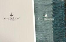 Designer Yves Delorme Aura Throw - Peacock. Brand New in original packaging £275