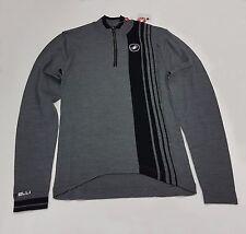 Castelli Winter Costante Men's Long Sleeve Cycling Wool Jersey Grey Size S