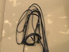 Stübben Kandarenzaum  X-Large NEU schwarz WB Warmblut groß Kandare Trense XL **