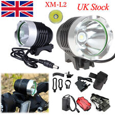 UK 7xCree XML T6 9800lm Mountain Bike Bicycle Light Head Light Lamp+Battery Pack