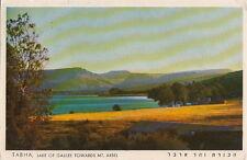 Postcard Tabha Lake of Galilee Towards Mt Arbel Israel