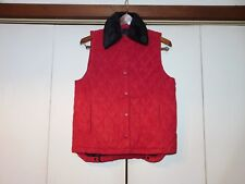 Outback Trading Lux  Vest Cinnamon M With removable Faux Fur collar