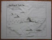 Bible Atlas Large Map Flight fr. Egypt Red Sea Sinai - 1790