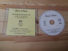 CD canzonette anni & Moni-grazie per il tempo con te (1) canzone PROMO WPL rrec