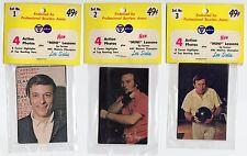 1972 PBA Bowling 50 Card Set w/ Weber, Carter, Petraglia, etc. & Lesson cards