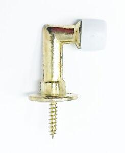 """Hager BL6209 Floor Door Stop Brass Finish US4 1.25"""" Height 4 Pack"""