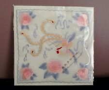 Pure Silk Hand Embroidered Handkerchief Souvenir Of China