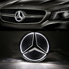 Illuminated Car Front LED Grille Logo Emblem Badge Light For 06-13 Mercedes Benz