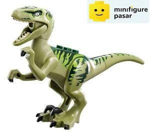 Lego Jurassic World 75920 - Dino Raptor Dark Green (Charlie) Minifigure - New
