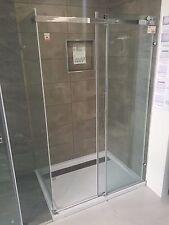 900x1500mm Sliding Shower And Shower Base Combo DIY