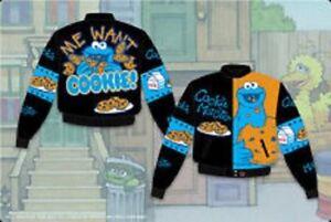 JH designer jacket Kids - Cookie Monster  jacket kids brand new