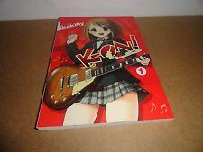K-ON! Vol. 1 by kakifly Manga Book in English