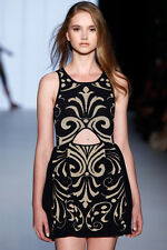 ALICE McCALL STUNNING LOVERS MUST ELUDE FROCK DRESS SIZE 10 - 12 $329