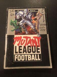mutant league football genesis Manual