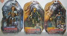 "HORNHEAD BROKEN TUSK MACHIKO Predator 7"" Figures Set of 3 Series 18 Neca 2018"