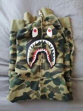 Bathing Ape (Bape) PONR Shark XL (Japan XL roughly UK Large) 1st Camo in green