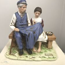 Norman Rockwell Museum The Lighthouse Keepers Daughter Figurine 1979 w/Box & Coa