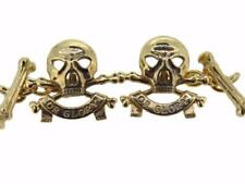 New 9ct Gold 17th 21st Lancers QRL Men's Cufflinks. Made to order. Excellent