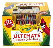 Crayola Coloring Set Case Crayons Drawing Book Kids Art 152 Piece Set Scool New