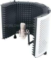 SoundLab Studio Microphone Adjustable Reflection Screen / Vocal Isolation Booth