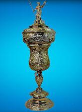 "A PHENOMENAL DOCUMENTARY GERMAN GILT ""SILVER WEDDING"" CUP"