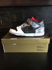 "Nike Dunk Mid Elite SB ""BEIJING TRIUMVIR X FLY"" - gold box 350677 001"