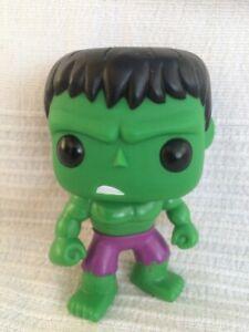 Funko-Pop! The Hulk #08 Marvel Universe, Vinyl Bobble Head. 2011. No Box