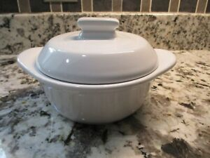 Pampered Chef Garlic Brie Roaster Baker 1369 Microwave & Oven Safe 3 cup w/ Lid