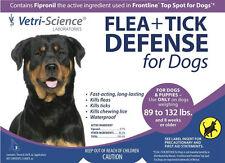 Vetri Science Flea + Tick Defense for Dogs 89 - 132 Pounds (VS 00053)