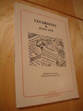 Les droites et février 1934 Idéologies Archives Crise à Toulouse Cinéma nazi ..