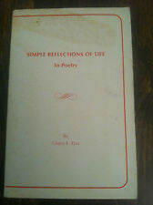 Simple Reflections of Life in Poetry by Gloria E. Das store#3067