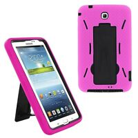 "Hybrid Case Cover Heavy Duty For Samsung Galaxy Tab 3 7"" Tablet P3200 T210 T217"