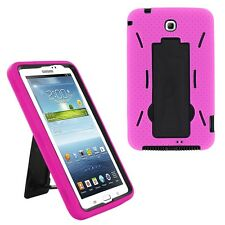 "Hybrid Case Cover Heavy Duty For Samsung Galaxy Tab 3 7"" Tablet 3200 T210 T217"