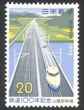 Japón 1972 Trenes/Ferrocarriles/transporte ferroviario/1v (n26661)