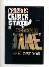 CEREBUS CHURCH & STATE -  USA COMIC  - # 20  - NOV 1991  -VG