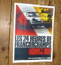 Porsche 1968 24 Hours Le Mans Rally POSTER