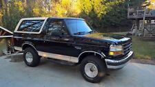 1992 Ford Bronco Eddie Bauer