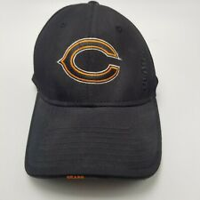 Chicago Bears OSFA Hat Cap Black Flexfit Fitted S to M Used Adult B4
